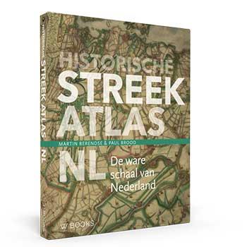 Historische Streekatlas. De ware schaal van Nederland