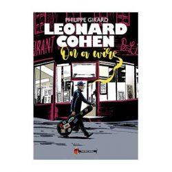 Leonard Cohen. On a wire.   – Philippe Girard